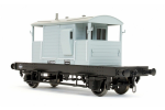 Dapol 7F-100-007 SR Pill Box Brake Van S56260 BR Grey